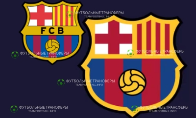 новый лого Барселона